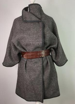 Легкое летнее шерстяное пальто накидка marc o polo размер s-m/10/38.