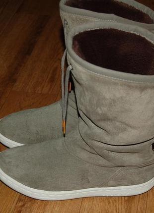 Кожаные сапоги 37-38 р adidas оригинал