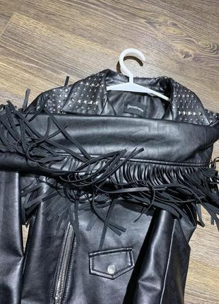 Куртка с бахромой. косуха.