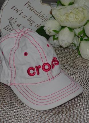 4 - 8 лет фирменная кепка бейсболка детская с вышивкой crocs крокс