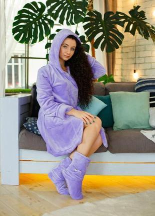 Женский махровый халат, махровый халат на запах, махровый халат с поясом