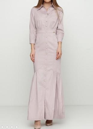 Стильное платье ciolla sassofono на пуговицах