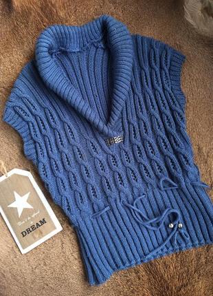 Шерстяная кофта,водолазка с горлом,пуловер