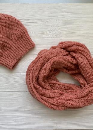 Набор шапка и шарф, хомут river island