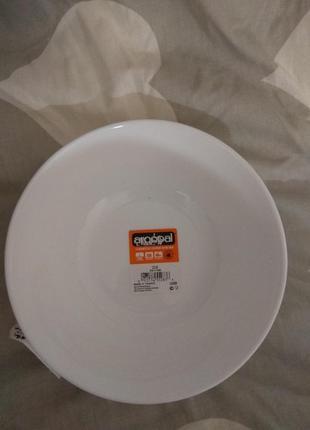 Luminarc глубокие тарелки 16см суповая и салатник