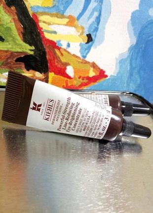 Интенсивный концентрат с витамином 《с》от морщин для разглаживания кожи вокруг глаз kiehls