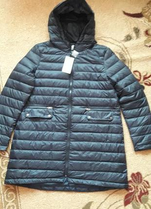Пуховое пальто оверсайз  zara