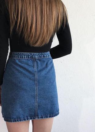 Джинсовая юбка  на пуговицах denim co и много скидок и подарков 🌶🌶🌶6 фото