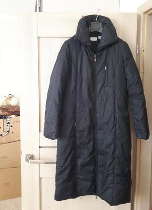 Мега крутое пуховое пальто известного бренда