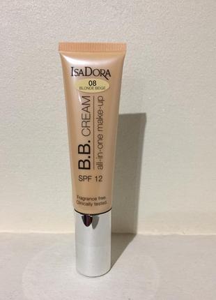 Bb крем isadora cream all-in-one make-up spf 12