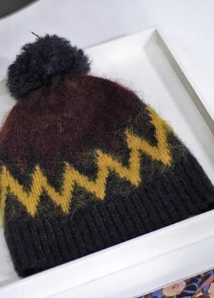 Мохеровая шапка hm&erdem ❄️⛄️