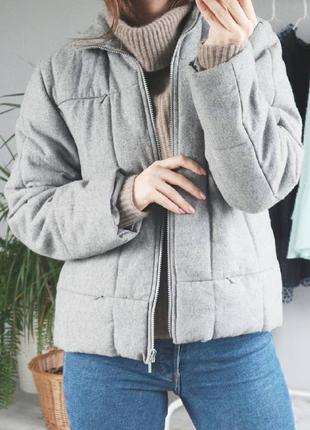 Теплая куртка (50% шерсти)