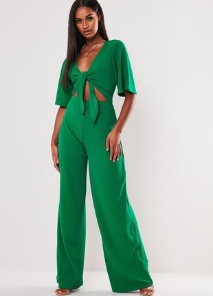 Комбинезон с широкими брюками missguided,  размер 12