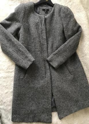 Пальто бойфренд, шерстяное пальто
