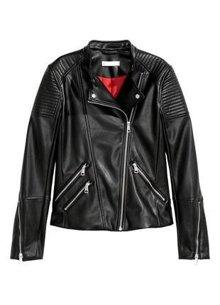 Курточка нм. мотокуртка h&m америка, новая. biker jacket.