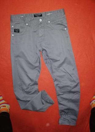 Брендовые мужские джинсы брюки jack&jones 33/32 в очень хорошем состоянии