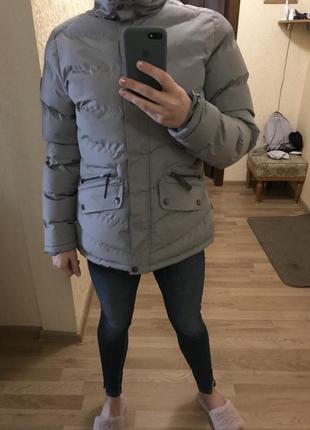 Приталенная зимняя куртка trespass