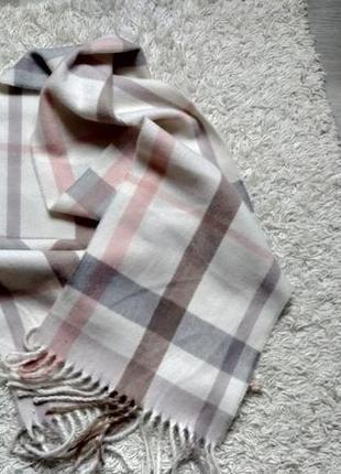 Трендовый шарф в клетку🔥