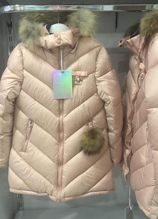 Зимняя куртка для девочки❤️