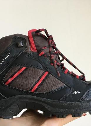 Трекинговые ботинки кроссовки quechua размер 40