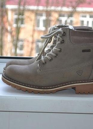 Утепленные ботинки  от tamaris технология duo-tex