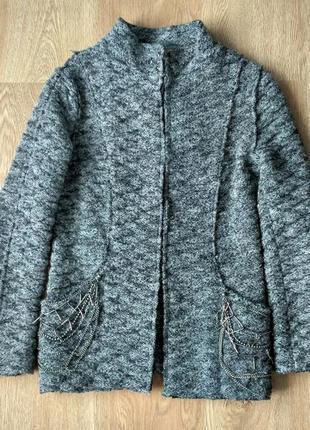 Актуальный жакет zara knit