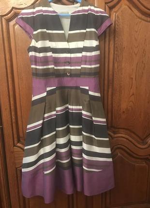 Платье в полоску rene