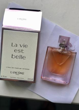 Оригинальный парфюм lancôme belle intense