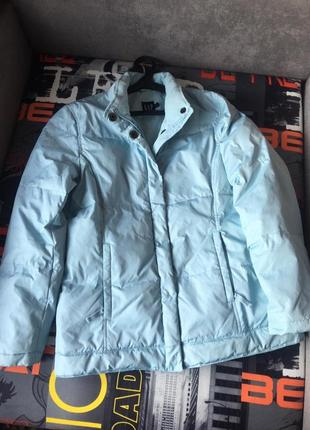 Фирменный пуховик/ куртка зимняя на пуху