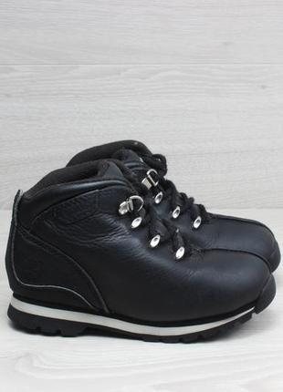 Детские кожаные ботинки timberland оригинал, размер 27 (тимберленд)