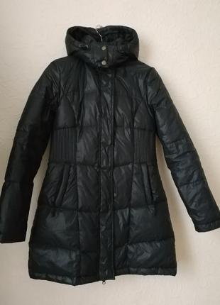 Куртка пуховик зимняя с капюшоном