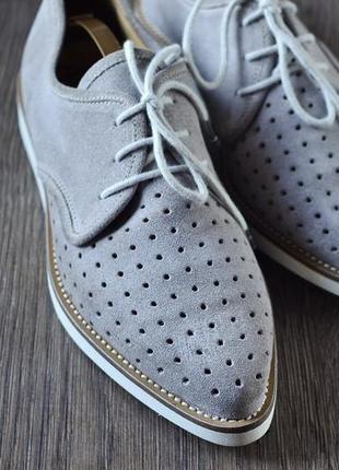 Шикарные замшевые  туфли / лоферы accatino, италия