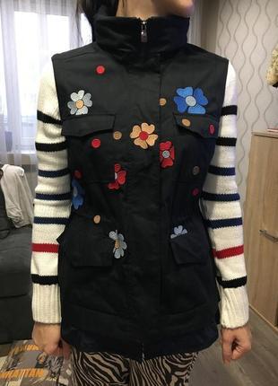 Фирменная куртка трансформер desigual