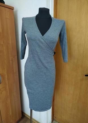 Теплое шерстяное платье paul costelloe