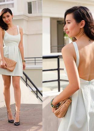 Очень нежное платье от zara