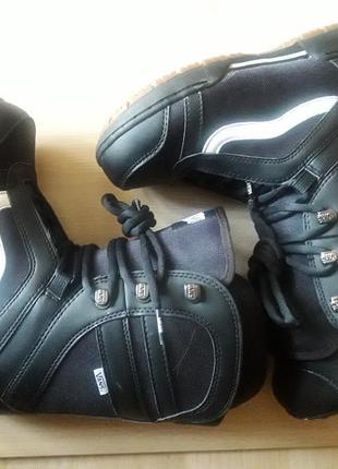 Ботинки для сноуборда vans mantra 38, 5 ( 24, 5 см)