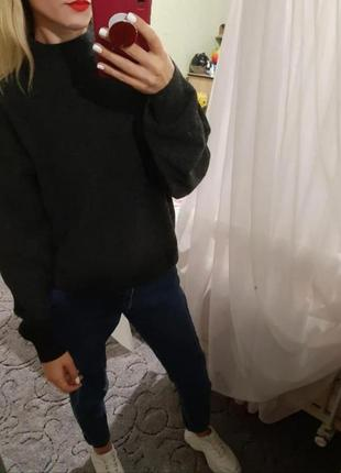 Объёмный шерстяной свитер оверсайз 🔥