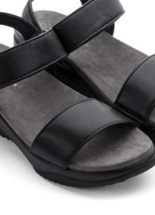 Летние босоножки,  сандалии женские черные.
