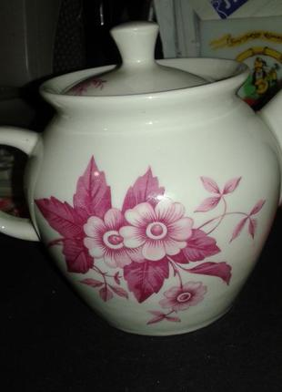 Заварочный чайник большой винтаж