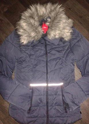 Классная теплая куртка