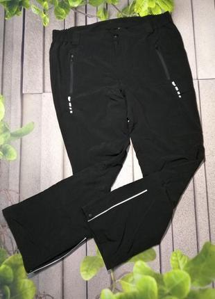 Мужские лыжные спортивные брюки без утеплителя