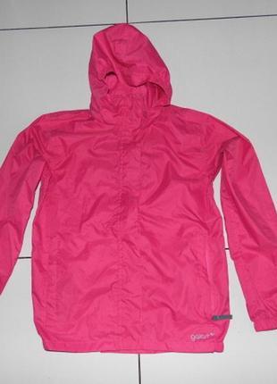 Штормовка - дождевик - сумка -  gelert packaway jacket 11/12 лет