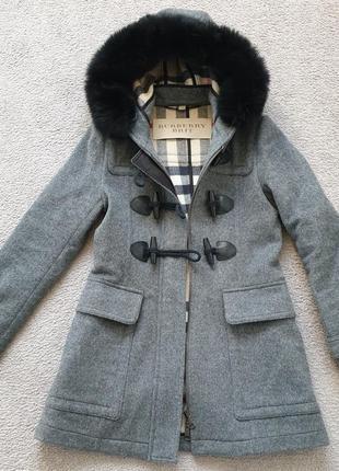 Дафлкот burberry brit оригинал пальто