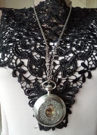 Часы - кулон