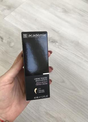 Тональный крем academie multi-effect tinted cream 01