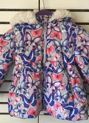 Курточка m&s на 1-1.5 года рост 83 см