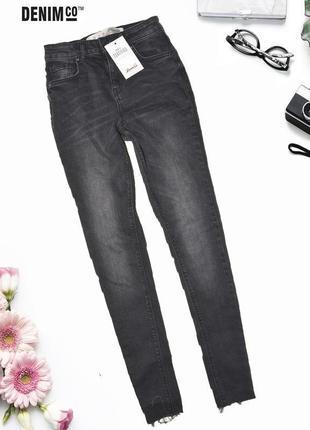 Зауженные джинсы skinny denim co
