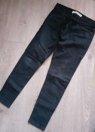 Джинсы next скинни штаны черные