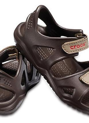 Сандалии crocs swiftwater river