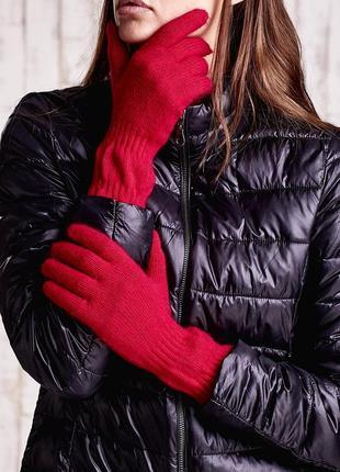 17-167 довгі в'язані рукавички длинные вязанные перчатки